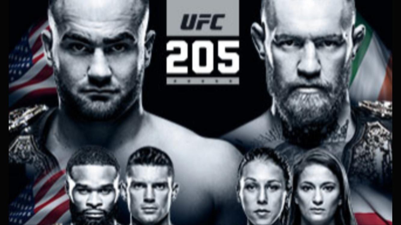 Conor McGregor Against Eddie Alvarez UFC 205