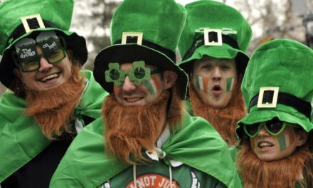 Las Vegas meets Dublin, Ireland for St. Patrick's Day, 2017!!